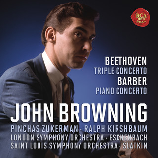 Beethoven:Concerto For Piano, Violin, Cello And Orchestra, Op.56 & Barber:Concerto For Piano And Orchestra, Op. 38