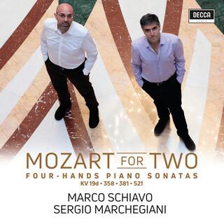 Mozart For Two - Piano Sonatas Four Hands KV 521, 381, 19D, 358