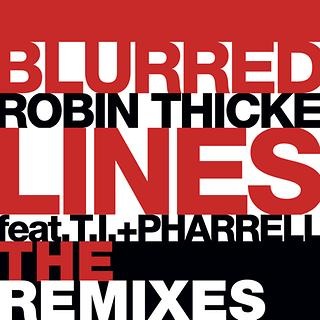 Blurred Lines The Remixes