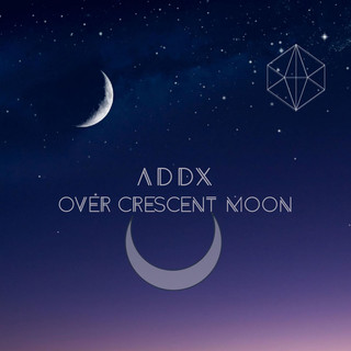 Over Crescent Moon