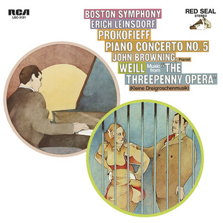 Prokofiev:Piano Concerto No.5 In G Major, Op. 55 & Weill:Kleine Dreigroschenmusik (Little Threepenny Music)