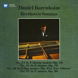 Beethoven:Piano Sonatas Nos. 24, 25, 26 \
