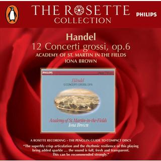 Handel:12 Concerti Grossi, Op.6