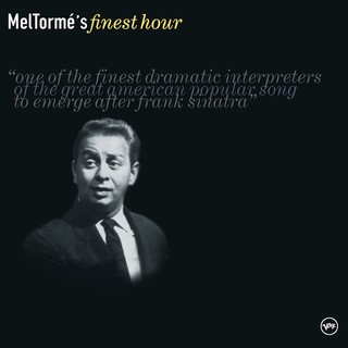 Mel Torme's Finest Hour
