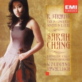 R. Strauss:Violin Concerto - Sonata - Sarah Chang - Sawallisch