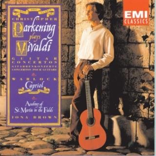 Plays Vivaldi , Warlock & Praetorius