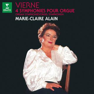 Vierne:4 Symphonies Pour Orgue (À L'orgue De L'abbatiale Saint - Étienne De Caen)
