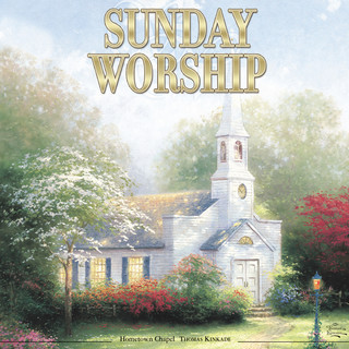 Thomas Kinkade:Sunday Worship