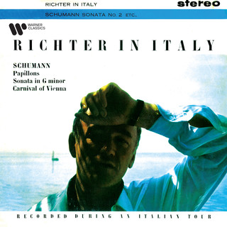 Richter In Italy. Schumann:Papillons, Piano Sonata No. 2 & Carnival Of Vienna