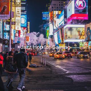 Stylish Jazzhop Lofi - Ambiance For 1 AM Study Sessions
