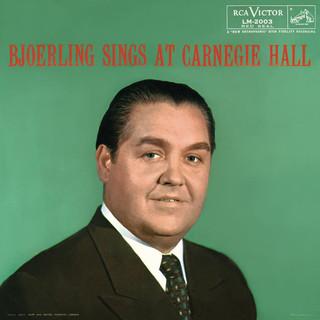 Jussi Björling Sings At Carnegie Hall (Live)