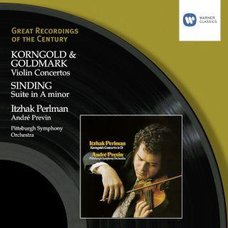 Korngold & Goldmark:Violin Concertos