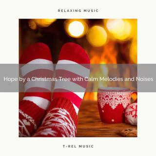Hope By A Christmas Tree With Calm Melodies And Noises
