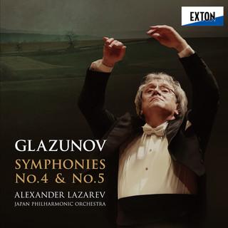 グラズノフ:交響曲第 4番 & 第 5番 (Glazunov: Symphony No. 4 & No. 5)