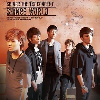 THE 1st CONCERT ALBUM \'SHINee WORLD