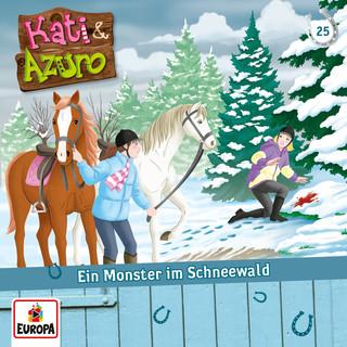 025 / Ein Monster Im Schneewald