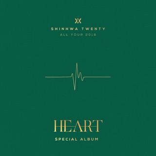 SHINHWA TWENTY SPECIAL ALBUM \'HEART\'