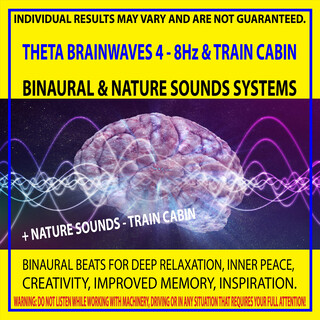 Theta Brainwaves 4 - 8Hz & Train Cabin