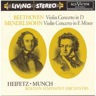 Beethoven:Violin Concerto; Mendelssohn:Violin Concerto