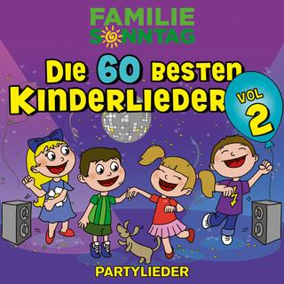 Die 60 Besten Kinderlieder, Vol. 2 - Partylieder